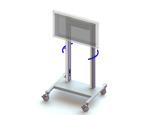 Heavy30 Monitor Cart