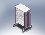 ISO Storage Cart VII