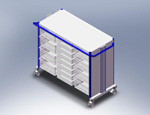 ISO Storage Cart XI