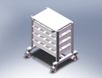 ISO Storage Cart III