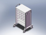 ISO Storage Cart V